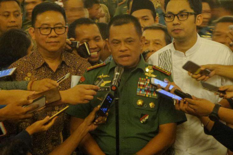 Panglima TNI Sebut Ada 16 Wilayah Dimasuki ISIS