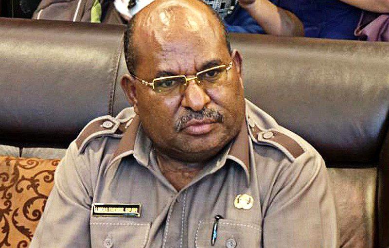 Gubernur Papua Temui KPK Untuk Klarifikasi Kekayaan