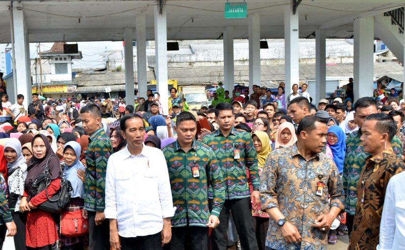 Jokowi Mulai Proyek Kereta Api Dua Jalur Bogor-Sukabumi