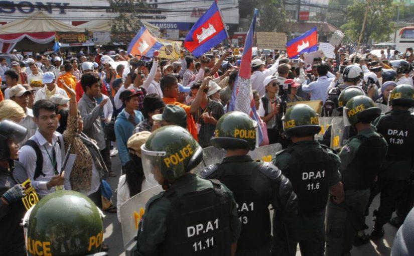 Wartawan Kamboja Ditangkap Karena Diduga Antek Amerika