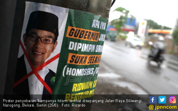 Sehari Jelang Pilkada, Ridwan Kamil Diserang Kampanye Hitam